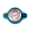 Ryanstar Racing Car Small Head Aluminum Thermostatic Gauge Radiator Cap With Water Temp Gauge Meter quyanre thermostatic shower faucets set chrome thermostatic mixing valve bath shower set thermostatic mixer tap wall mounted
