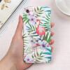 Мультфильм животных фламинго растения трудно Пластик задняя крышка для IPhone 6 6s Телефон Чехол тонкий Корпус для iphone x 7 8