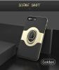 IPAKY кольцо держатель чехол для iPhone 7 8 роскошный ультра тонкий матовый автомобиль магнитный держатель силиконовый чехол для iPhone 7 8 Plus чехол чехол для iphone 7 sgp slim armor 042cs20842 ультра черный