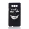 Телефон Защита жесткого пластика задняя крышка Встроенная кожи чехол для Samsung Galaxy A5 - зубы телефон samsung galaxy a5