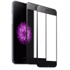 GiGiboom 2piece 9H Anti Scratch Fiber Carbon Soft Edge Full Cover Закаленное стекло для экрана iPhone X iPhone 8 8P чехол для iphone interstep для iphone x soft t metal adv красный
