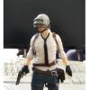 Playerunknowns Battlegrounds PUBG Around 6 inch doll figure spot to eat chicken tonight Metal Fashion Car Weapon model 1 6 scale figure doll clothes male batman joker suit for 12 action figure doll accessories not include doll and other 1584