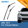 SUMKS Wiper Blades for Citroen Nemo 26&19 Fit Bayonet Arms 2008 2009 2010 2011 2012 2013 for 2008 2012 cbr1000rr aluminum upper fairing stay bracket for 2008 2009 2010 2011 2012 china motorcycle part accessory