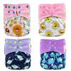 Карманные тканевые подгузники с вкладышами Водонепроницаемые подгузники для 3-15 кг Baby One Size Fit All haggis памперсы подгузники акция низкая цена