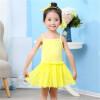 2018 Новые платья для девочек Sling Ball Платья для вязания Хлопчатобумажные жилеты Балетное платье для балета Летняя вечеринка для девочек Vestidos 90-150cm платья для девочек