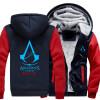 Новый костюм убийцы Unise для Assassin Creed Unity напечатайте Hoodie 2018 горячие мужские пальто зимы флиса свободную перевозку г моноблок asus zn220icgk ra040t 90pt01n1 m03090 90pt01n1 m03090