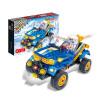 BanBao Hitech Pullback Автомобильные Образовательные Пластиковые Строительные Строительные Блоки Игрушки