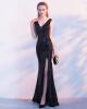 Банкет вечернее платье мода золото сексуальная длинная рыба ночной клуб ужин платье юбка конец германии гитлера агония и гибель