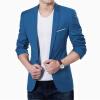 Мужчины Свадебные куртки Костюм Мужские Блейзеры Тонкие костюмы для мужчин Костюм Бизнес-формальная вечеринка Серый классический Пальто Мужская куртка Тонкая