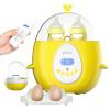 Sakura (Enssu) Интеллектуальный пульт дистанционного управления жидкокристаллический молочный нагреватель Двойная бутылка Thermos Kettle Milk Warmer Стерилизатор для бутылочек для детей ES218 enssu домашняя теплозащитная чашка для детей