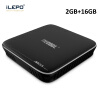 iLEPO M8S Pro Android 7.1 Smart TV Box Amlogic S905X Quad Core H.265 4K HD WiFi TVcenter 17.3 IPTV Set-top Player Box mx plus amlogic s905 smart tv box 4k android 5 1 1 quad core 1g 8g wifi dlna потокового tv box