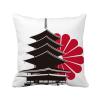 японский хризантемы и храм площадь бросить подушку включить подушки покрытия дома диван декор подарок интерьер и декор