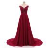 Пляжные Свадебные платья 2018 трапециевидной формы с боковыми элегантный Кружево Аппликации шифон Свадебные платья платье