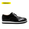 THEMUS Oxford Flats Men's Shoes Retro Series 16033 global global adv workbook