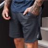 Muscle Fitness Muscle Brothers Летние брюки Мужчины Спортивные повседневные шорты Запуск тренировочных брюк herbal muscle