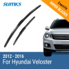 SUMKS Wiper Blades for Hyundai Veloster 26&18 Fit Hook Arms 2012 2013 2014 2015 2016 wiper blades for hyundai accent 26