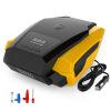 POWERTIGER Цифровая / указательная автомобильная шина Inflator Pump DC 12V Портативный воздушный компрессорный насос 60PSI для авт