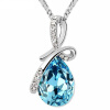 Ожерелье из ожерелья с каплями воды из австрийских элементов Женское ожерелье из высококачественного ожерелья 8315