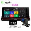 CU50 DVR 7 Touch Android Car Camera 3G WIFI Зеркало заднего вида DVR GPS Автомобильный видеорегистратор Dash Camera FHD 1080P Dual Lens