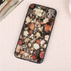 Винтаж цветы ромашки Тонкий чехол для iphone 6 6s 7 8 плюс силиконовый ультра тонкий мягкий ракушки чехол для IPhone 5 5s se x ультра тонкий 0 7 мм тонкий алюминиевый металл рамки бампера чехол для iphone 5 5s