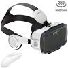 Наушники с виртуальной реальностью VR с наушниками и удаленные видеоигры 3D-очки подходят для близорукости для телефонов в пределах 3,5-6,2 дюйма