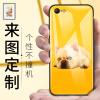 Feichuang Apple 6 / 6splus Мобильная оболочка Пользовательский iPhone6 / 6s Стеклянная крышка Личность Creative DIY На заказ на заказ Мужчины и женщины