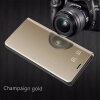 Samsung Galaxy S8 / S8 Plus роскошные слим зеркало Flip Shell стоят кожаные смарт - ясно, окна покрытия телефон дело oem samsung akg s8 headphones earbuds with mic for samsung galaxy s8 s8 plus
