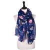 Jeouly 2018 новый стиль совы длинный шарф Girl Dots Цветы женщины Шарфы Мягкая богема Винтаж Животный платок и обертывания Полосы