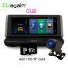 CU2 8 '' DVR GPS 4G Wifi 1080 FHD Dash Cam Android Камера заднего вида Камера заднего вида Регистратор видеорегистратора Bluetooth