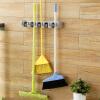ОРЗ ABS настенный вешалка стеллаж для хранения 5 позиция кухня швабры щетки Организатор держатель инструмент с крючком, Ванная ком орз шарф вешалка 5 отверстие кольцо