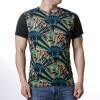 Мужская личность Пуловеры с короткими рукавами Вентилятор Печатные футболки пуловеры