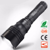 Diving Scuba Zoom LED Flashlight Underwater CREE Q5 Powerful LED Portable Light 18650 Rechargeable Handy Torchlight 9000 lumen underwater flashlight xml 6x l2 scuba diving flashlight diver lanter led torch light lanterna 2x 26650 charger