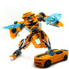 Top Sale 18.5cm New Arrival Big Classic Deformation Plastic Robot Cars Action Toy Figures Kids Education Toy Gifts cool anime transformation toys action figures movie 4 robot cars brand good toy model brinquedos kids boys toys gifts juguetes