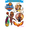 LMA Лома 3D наклейки персонализированные наклейки мультфильм звезда баскетбола наклейка костюм