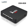 iLEPO KM8 Pro Android 7.1 Smart TV Box Amlogic S912 64 bit Quad Core 4K WiFi 2.4GHz 1000M LAN IPTV Set-top Media Player Box mx plus amlogic s905 smart tv box 4k android 5 1 1 quad core 1g 8g wifi dlna потокового tv box