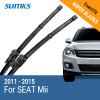 SUMKS Wiper Blades for SEAT Mii 24&16 Fit Hook Arms 2011 2012 2013 2014 2015 auto paper auto take up reel system for all roland sj sc fj sp300 540 640 740 vj1000