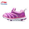 Li Ning детская обувь детская гусеница детская обувь для мужчин и женщин детская детская спортивная обувь YKAN036-1 Ning snow / Flint blue 30 LI-NING KIDS обувь детская таши орто одесса