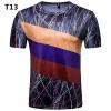Новая мужская мода футболка Высокое качество Повседневная спортивная футболка Футбольная кубок Мемориальная футболка