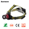 Zoom LED Headlamp 18650 Rechargeable LED Headlight Outdoors Hiking Hunting Head Light Fishing Bicycle Cycling Head Lamp boruit b13 cree xm l2 led headlamp rechargeable camping headlight lamp torch rechargeable linterna antorcha bicycle head light