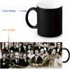 The Godfather 350ml/12oz Heat Reveal Mug Color Change Coffee Cup Sensitive Morphing Mugs Magic Mug Milk Tea Cups automatic food processors coffee mixing cup mug blew stainless steel self stirring electric coffee mug 350ml six color h 025