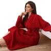 Хлопчатобумажные халаты для полотенец халаты для мужчин и женщин зимний мягкий халат пара взрослый отель пижамы большой размер длинные впитывающие зима халаты банные лори халат