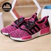 Женская мода Чистая поверхность воздухопроницаемый Супер свет Спортивная обувь Беговая обувь Повседневная обувь Женская обувь женская обувь
