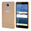 MOONCASE чехол для Huawei Honor 7 Bumper Frame Hard 2 in 1 Cover Gold аксессуар чехол huawei honor 7 aksberry gold
