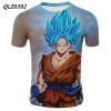 Dragon Ball аниме футболка с коротким рукавом повседневная футболка летняя футболка футболка незнакомка футболка
