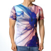Мужская мода Летние цветные печатные футболки с короткими рукавами Пуловеры мужская мода летние цветные печатные футболки с короткими рукавами пуловеры