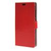MOONCASE чехол for ZTE Blade S6 Plus S6+ Кожаный бумажник флип Чехол карты с Kickstand Дело Чехол красный01 mooncase чехол
