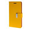 MOONCASE чехол для HTC One M8 Flip Leather Wallet Card Slot Bracket Back Cover Yellow mooncase чехол для htc one m8 flip leather wallet card slot bracket back cover hot pink