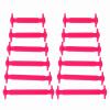 JUP 3 комплектов / 36 шт. Новый детский ребенок Нет галстуков Шляпы для взрослых Взрослые дети Unisex Эластичные силиконовые шнурки Случайный спорт Lazy Shoelaces mcd200 16io1 [west] quality goods page 3