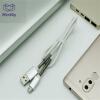 Mzxtby 1M / 2M USB-кабель Зарядное устройство для мобильного телефона для Samsung / Xiaomi / Huawei для esr многофункциональный кронштейн для мобильного телефона с кронштейном для мобильного телефона для apple samsung huawei xiaomi