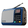 Arista (EARISE) T33 Radio MP3 Card Speaker Портативный мини-музыкальный плеер Emergent Старый звук Square Dance Старый Walkman China Red